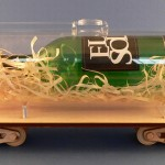 Skrzynka na wino - wagon cysterna