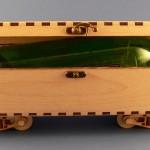 Skrzynka na wino - wagon węglarka